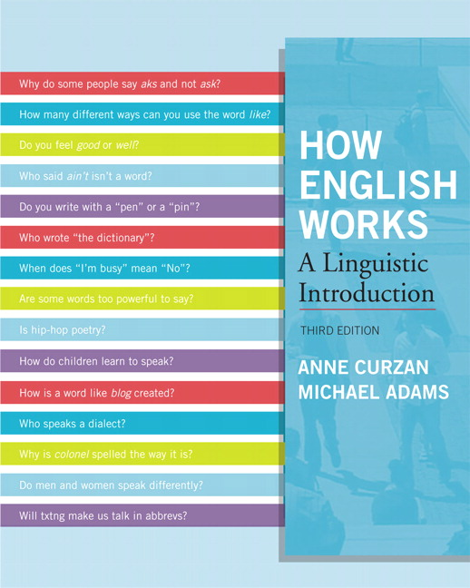 How English Works: A Linguistic Introduction, 3rd Edition